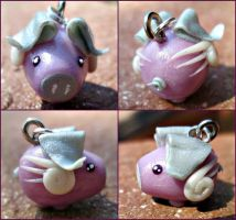 Pearlescent Purple Piggy by Rudjue