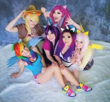My Little Pony - Mane Six by yayacosplay