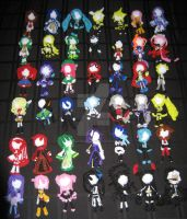 Vocaloid Dolls by bennitorimanga