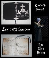 Zexion's Lexicon by RedShotRonin
