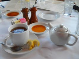 Tea in a Wisconsin Restaurant by Chlodulfa