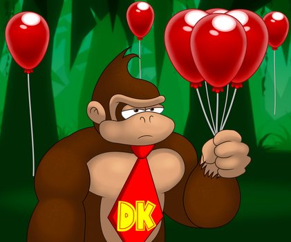 99 Red Balloons (DKCTF Video Art #4) by anotherblazehedgehog