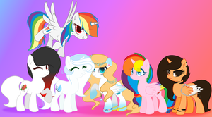 (G) Some awesome ponies by MelodySweetheart