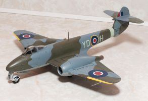 Gloster Meteor F.3 Completed by AEisnor
