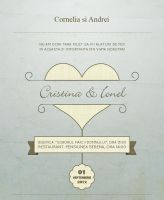 wedding invitation by DragosM