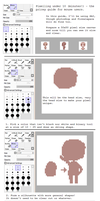 Pixel art tutorial by pricechi