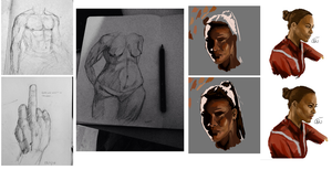 Sketches 24.12.14 - 02.02.15 by maausi