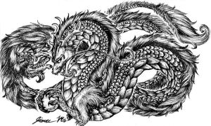 Random Chinese Dragon by Jianre-M