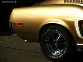 golden.fastback by AmericanMuscle