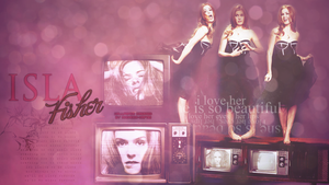 Isla Fisher by AndreeaMaftei