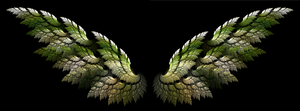 Earth Tone wings by TheIrisKriss
