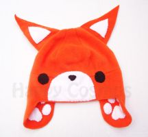 Fox Hat by CosmiCosmos