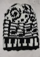 Loom Knitted Music Hat by ScarlettRoyale