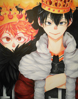 The King and the Crow by Yuunachi