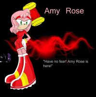 Amy rose by MagicalCustardSquire