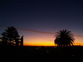 January Sunset in San Diego by CatherineAllison