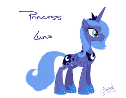 Princess Luna by Ameyal