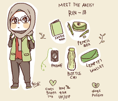 meet the artist! 8)) by pindanglicious