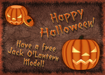 Jack O'Lantern Model by Metalraptor