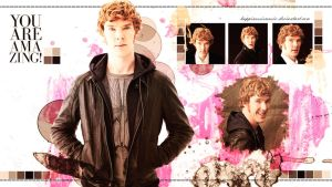 Benedict cumberbatch wallpaper 8 by HappinessIsMusic