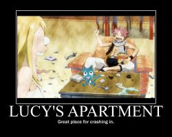 Lucys Apartment Motivator by htfman114