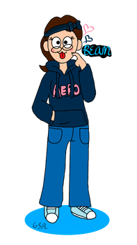 Me from Eddsworld by XAestheticJellybeanX