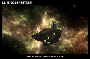 Lil' TARDIS Adventures 040 by DrOfDemonology