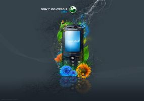 sony'e.k810 by drinadesign