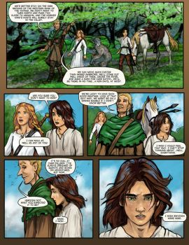 Prydain: the Graphic Novel, Chapter 11 Page 1 by saeriellyn