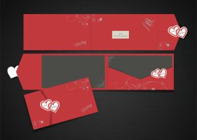 Wedding Card Design by sajidbilal