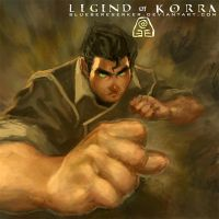Legend of Korra by BlueBerserker