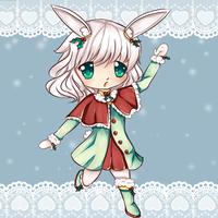 Snow Bunny adoptable *sold!* by dathie