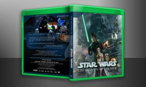 Star Wars - The return of the jedi case preview by JamshedTreasurywala