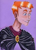 The faithful sidekick Weasley by Agatha-Macpie