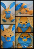 Benny Bunny by SwiftStitchCreations