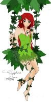 SapphireDean ~ Poison Ivy by poneroyo