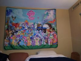 Mlp Blanket 1 by MoongazePonies