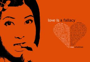 the summary of love is a fallacy Transcript of love is a fallacy douche of doom this is the main character who gives peter his father´s raccoon coat and gets polly espy in return he claims that he is cool and logical.
