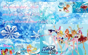 Winx Winter Wallpaper by xXLolipopGurlXx