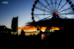 Royal Melbourne Show 2013 - Sunset by Shutter-Punk