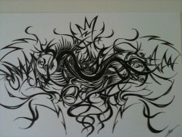 Freestle live drawing by toge-NYC