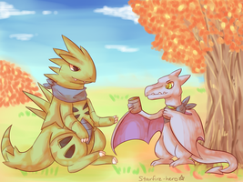SS: Autumn Tea by Southrobin