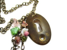 Passage Necklace no. 118 by sojourncuriosities