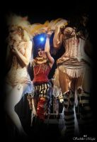 Emilie Autumn and The Bloody Crumpets FLAG Tour by SachikoMagic