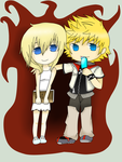 roxas and namine by hersheybusiness