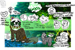 New Species Guide / The Fun-Goos by AlphaCyriaWolf
