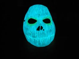 Cast mask aqua blue and green glow 2 by foxdog77