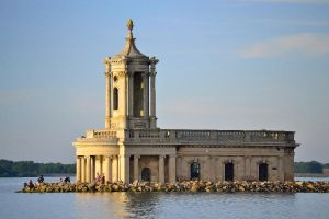 Rutland Water - Normanton Church by aprmason