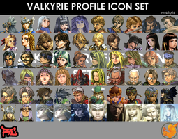Valkyrie Profile Icon Set by rcvalkyrie