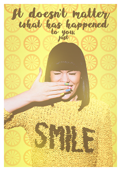 Just SMILE! by TxsDesign